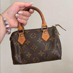 Louis Vuitton speedy mini bag